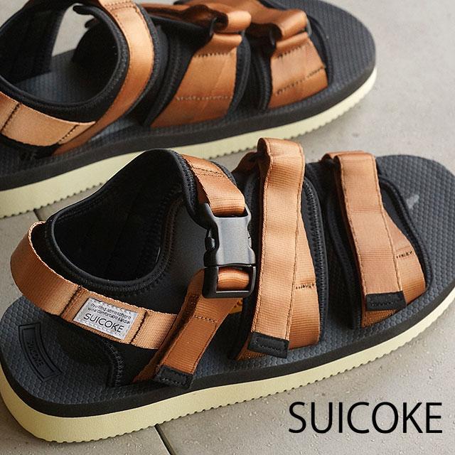ace01da1bfe suicoke Sui cook men gap Dis vibram sole sandals SUICOKE GGA-V BROWN (OG ...