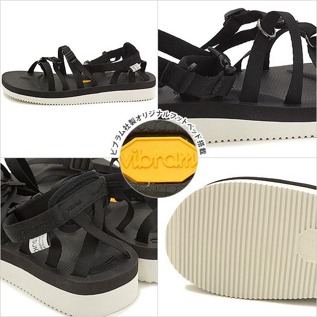 suicoke sicock mens Womens Vibram sole Sandals SUICOKE TOSSHI-V BLACK (OG-050 V SS16)