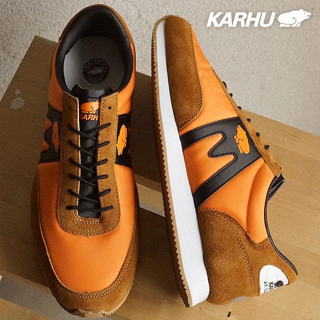6c96e200de536 【即納】KARHU カルフ スニーカー 靴 メンズ レディース アルバトロス オレンジ/バーントオレンジ (KH802500