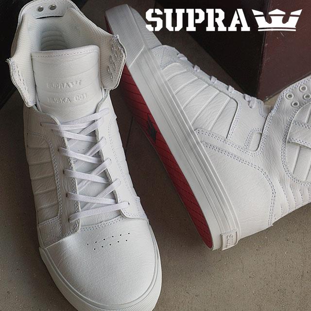 【月間優良ショップ】スープラ スケートシューズ メンズ レディース スニーカー 靴 スカイトップ クラシック SUPRA SKYTOP CLASSICS WWR (08003)