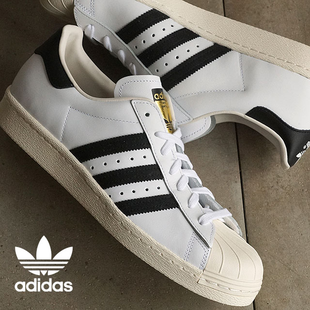 Adidas Superstar 80s white / black / chalk 2 adidas Originals SUPERSTAR 80 s men's women's (G61070)