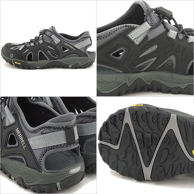 Merrell 全面大火筛男装户外运动鞋鞋 MERRELL 卖力开拓筛 BLK/野生鸽子 (65239)