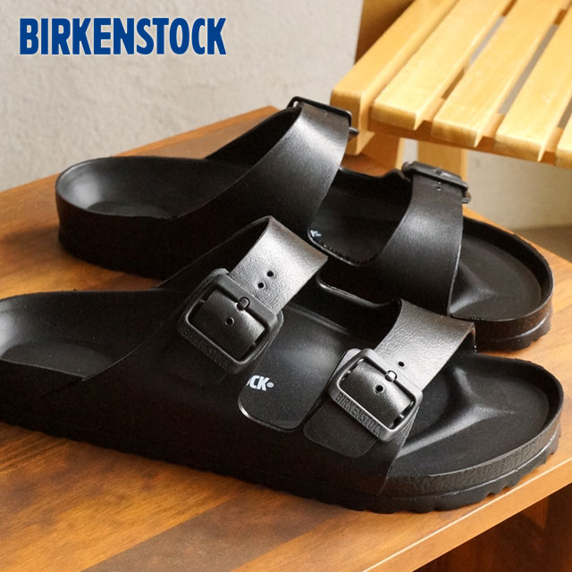 a0a97728cdda BIRKENSTOCK men s ARIZONA sandal and Arizona EVA Black Birkenstock ladies  (129423   129421 SS15)