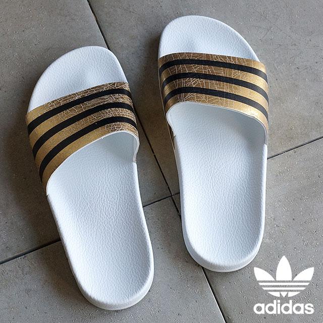 adidas adilette gold