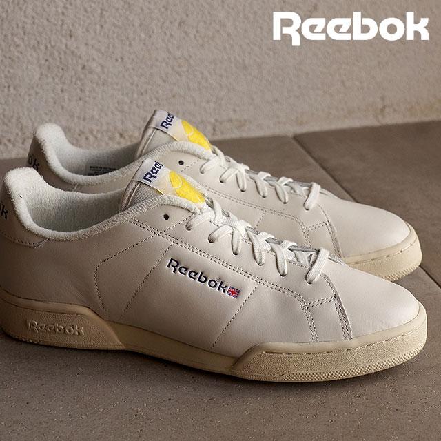 97bd4581b41 Reebok classics men s women s sneaker NPC ENH tennis Reebok CLASSIC NPC ENH  TB CHALK PAPERWHITE MIDNIGHT BLUE YELLOW SPARK (V67567 SS16)