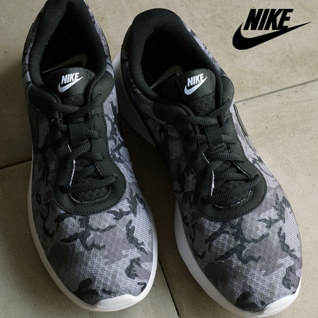 nike tanjun men's camouflage athletic shoes nz