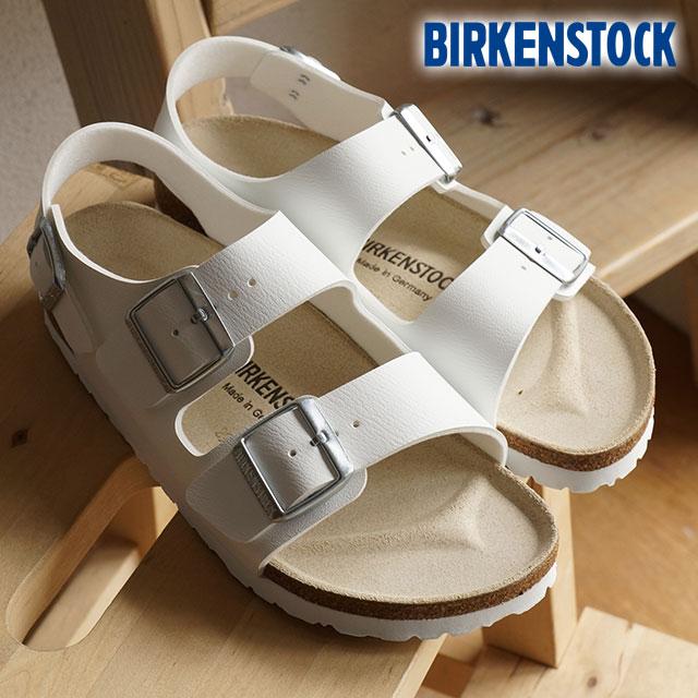 34cf0cc3567b5 Birkenstock Milano vircoflow BIRKENSTOCK men's women's sandal MILANO WHITE  034733 / 034731 (GC034733/GC034731)