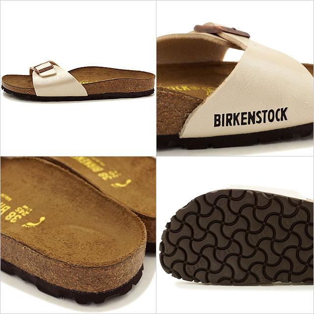 ビルケンシュトック マドリッド ビルコフロー グレイスフル BIRKENSTOCK レディース サンダル 靴 MADRID PEARL WHITE (GC940153 SS16)【e】