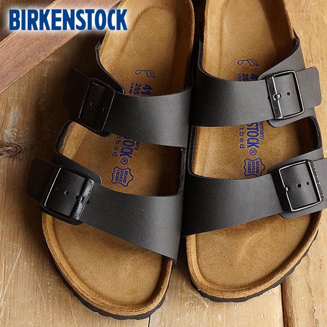 93e553973b09 Birkenstock Arizona vircoflow soft foot bet mens Womens BIRKENSTOCK Sandals  ARIZONA BLACK (GC551253 GC551251 SS16)