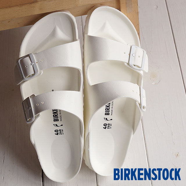 80d7e4c504ade3 ビルケンシュトックアリゾナ EVA BIRKENSTOCK sandal men gap Dis ARIZONA White  (GE129443 GE129441)
