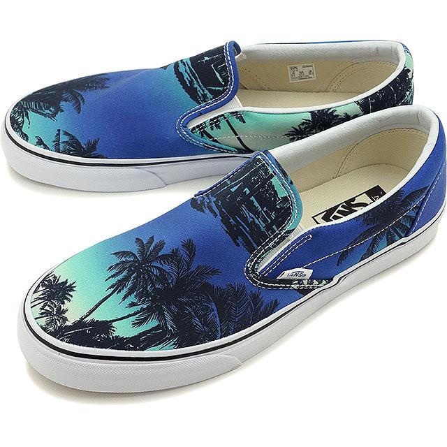 9ade23ae66 VANS vans slip-on sneakers mens Womens CLASSIC SLIP-ON classic slip-on (VAN  DOREN) HOFFMN blue (VN0003Z4IX4 SS16)