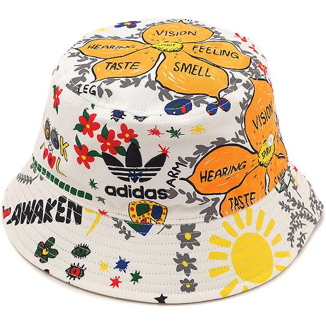 4ba0edfd8fa43 adidas Originals adidas originals Apparel Mens ladies BUCKET HAT STRANDED  stranded bucket Hat white AO2364 SS16