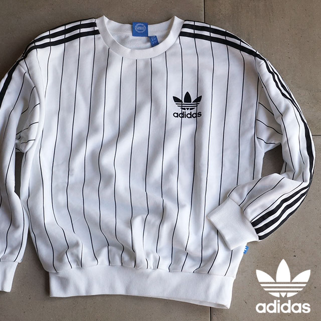 wholesale dealer 0ac3d bca48 Adidas originals three stripes sweatshirts apparel women s adidas Originals  3STRIPES SWETS white   black j8405 SS16 ...