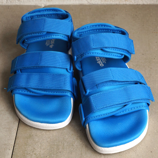 16ad204a8 Adidas originals adiliette strap Sandals Womens adidas Originals ADILETTE  SANDAL W shock blue S16   S16 shock blue   running white S75381 SS16