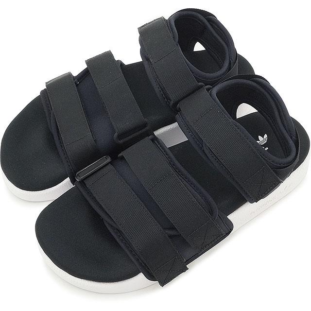 Adidas originals adiliette adidas Originals ADILETTE SANDAL W strap Sandals Womens core block / core black / running white S75382 SS16
