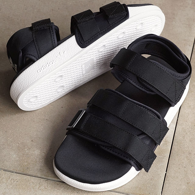 promo code 6fda9 12f84 アディダスオリジナルスアディレッタ adidas Originals ADILETTE SANDAL W strap sandals women  core black   core ...
