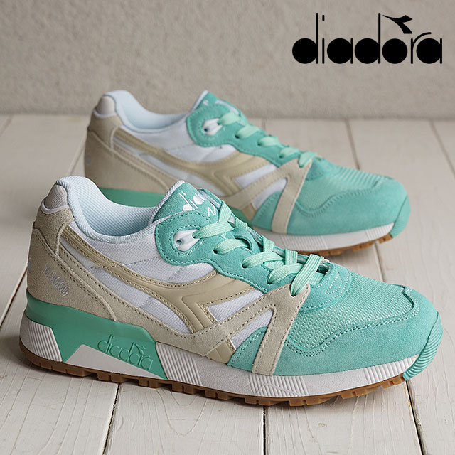 Green N9000 sneakers Diadora