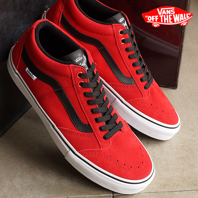 48c3dae042 Vans VANS sneakers TNT SG BRIGHT RED BLACK WHITE (VN000ZSNIYC SS16) shoetime