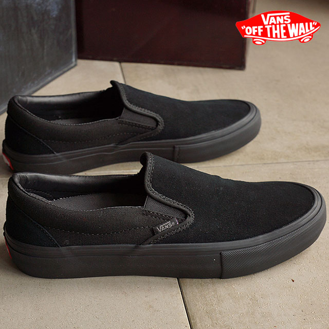Vans slip-ons pro VANS sneakers SLIP-ON PRO BLACKOUT (VN00097M1OJ) shoetime