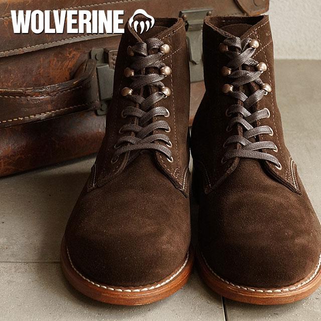 45c9860dd4c Wolverine 1000 mile work boot WOLVERINE Wolverine men's 1000 MILE BROWN  SUEDE (W40093)