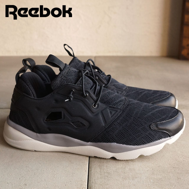 Reebok classics men's women's sneaker fury light TM Reebok CLASSIC FURYLITE TM Black Shark