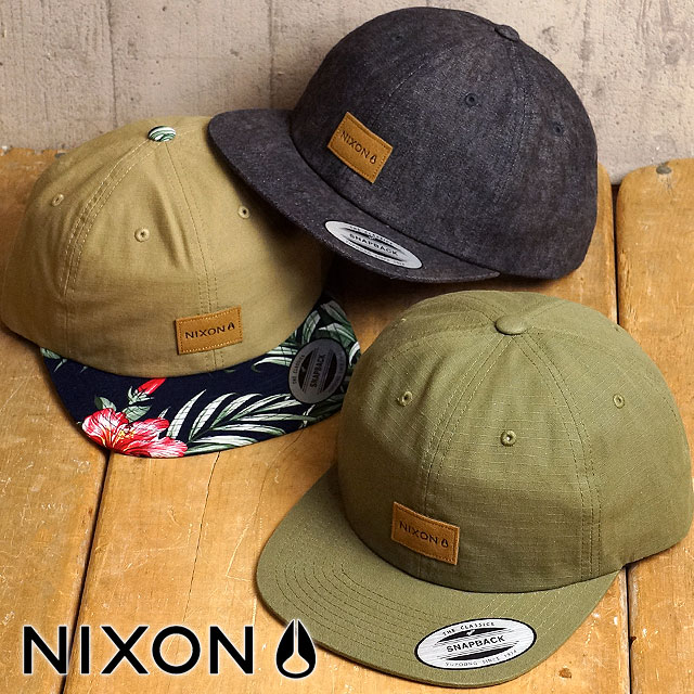 Nixon Wrangler Cap NIXON Womens hats men s Wrangler Snapback hat (NC2442  SU16) ca23b127308