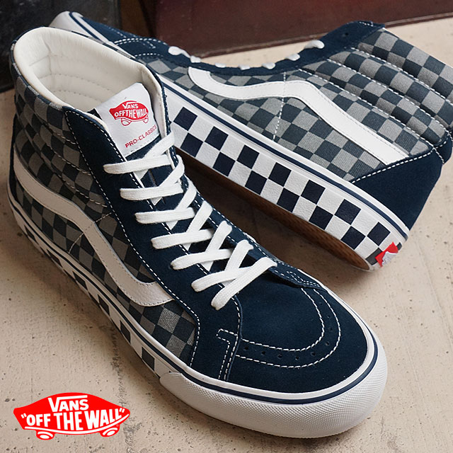 vans skate high checker