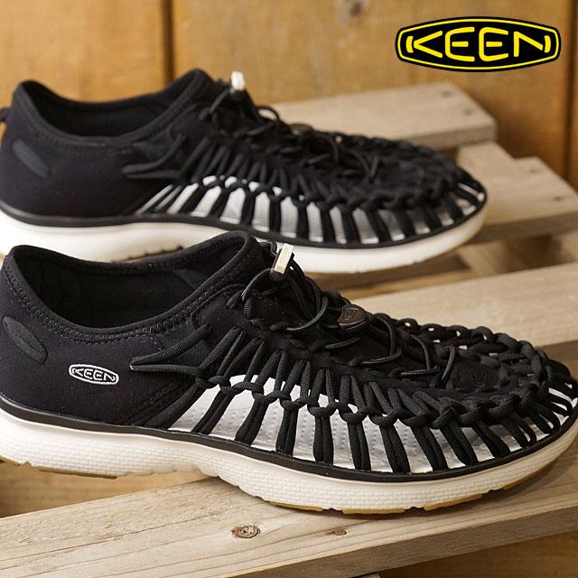【即納】キーン ユニーク O2 サンダル 靴 メンズ KEEN UNEEK O2 MNS Black/Harvest Gold (1017050 SS17)【コンビニ受取対応商品】
