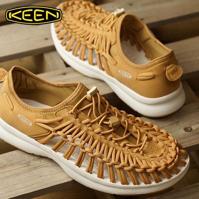 【在庫限り】キーン ユニーク O2 サンダル 靴 メンズ KEEN UNEEK O2 MNS Tan/White (1017053 SS17)【ts】【コンビニ受取対応商品】