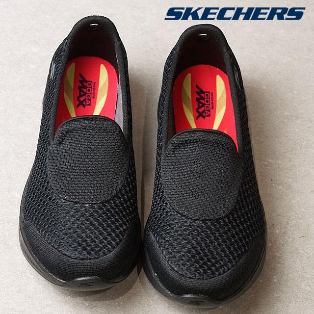6e009d117700 SKECHERS スケッチャーズレディーススリッポンスニーカー GO Walk 4-Kindle go walk 4 Kindle BBK (14145  SS17) shoetime