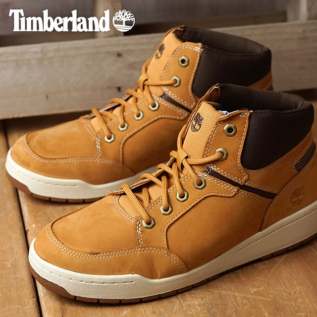 d538f400 Timberland Timberland men sneakers Raystown Sneaker Boot raise town sneakers  boots Wheat Nubuck with Brown ...