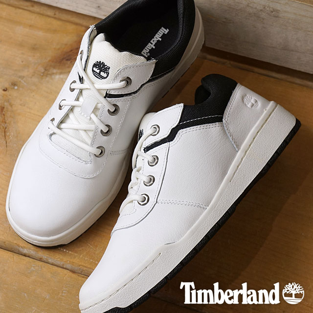 a8a8faf8f9ef Timberland Timberland men sneakers Raystown Sneaker Oxford raise town  sneakers Oxford White Full Grain Black (A1BAC SS17) shoetime