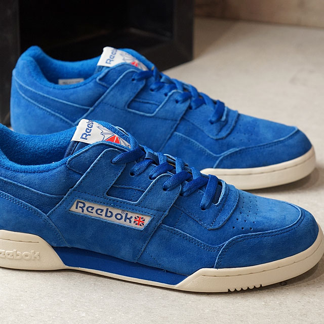 6abada87b379 Reebok CLASSIC Reebok classical music WORKOUT PLUS VINTAGE practice game plus  vintage AWESOME BLUE CHALK C.WHITE (BD3382 SS17)