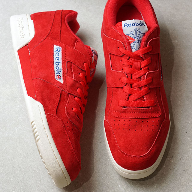 cca63a78082d Reebok CLASSIC Reebok classical music WORKOUT PLUS VINTAGE practice game plus  vintage PRIME RED CHALK C.WHITE (BD3383 SS17)