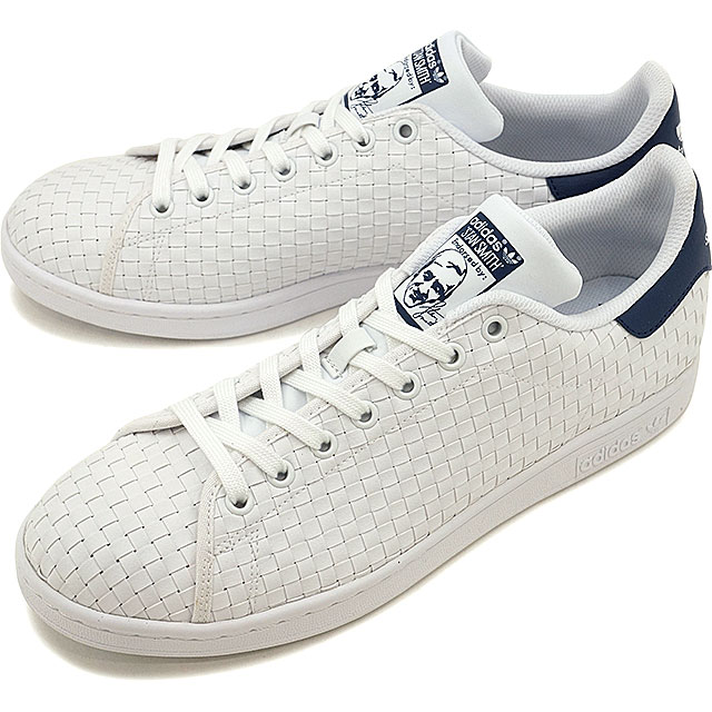 5002cf13 adidas Originals Adidas originals STAN SMITH men gap Dis Stan Smith R white  /R white /M blue S17 (BB0051 SS17) shoetime
