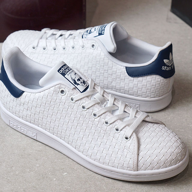 promo code 697fe 74554 SHOETIME adidas Originals Adidas originals STAN SMITH men gap Dis Stan  Smith R white R white M blue S17 (BB0051 SS17) shoetime  Rakuten Global  Market