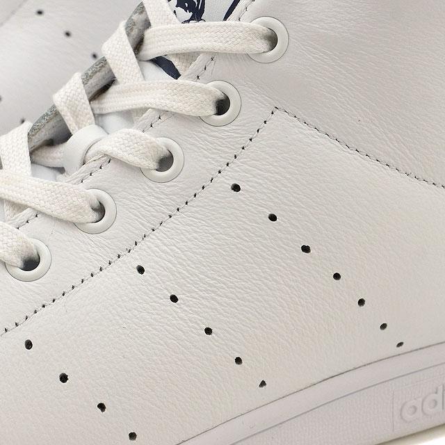 Adidas originals Stan Smith mid cut adidas Originals STAN SMITH MID R white   R white   dark blue (BB0070 SS17) shoetime 231cc6730