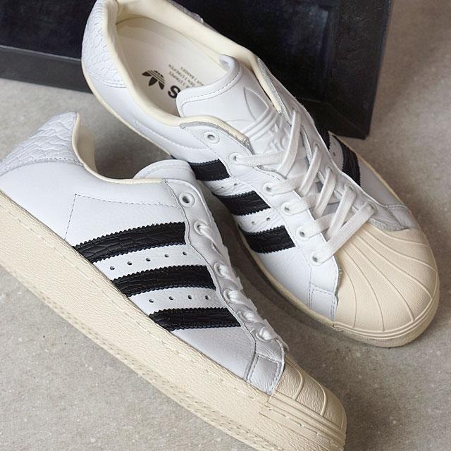 Lady's ultra star R white C black O white (BB0171 SS17) men's for adidas Originals Adidas originals ULTRASTAR 80s