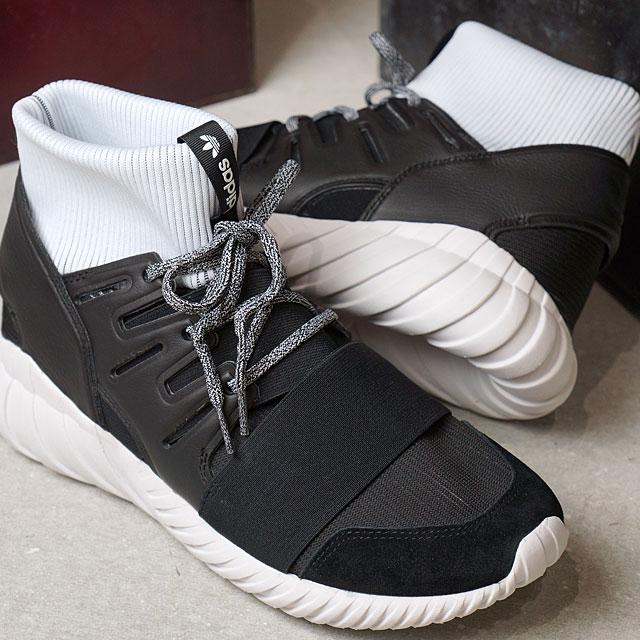 アディダスオリジナルスチュブラードーム adidas Originals TUBULAR DOOM C black C black R white (BA7555 SS17)
