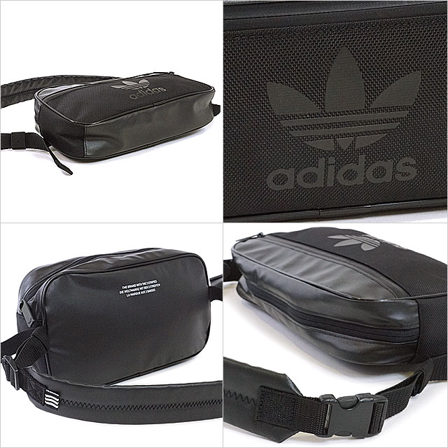 23fd08473653 adidas Originals Adidas originals CROSS BODY BAG SPORT men gap Dis cross  body bag sports body bag black (BK6836 SS17)