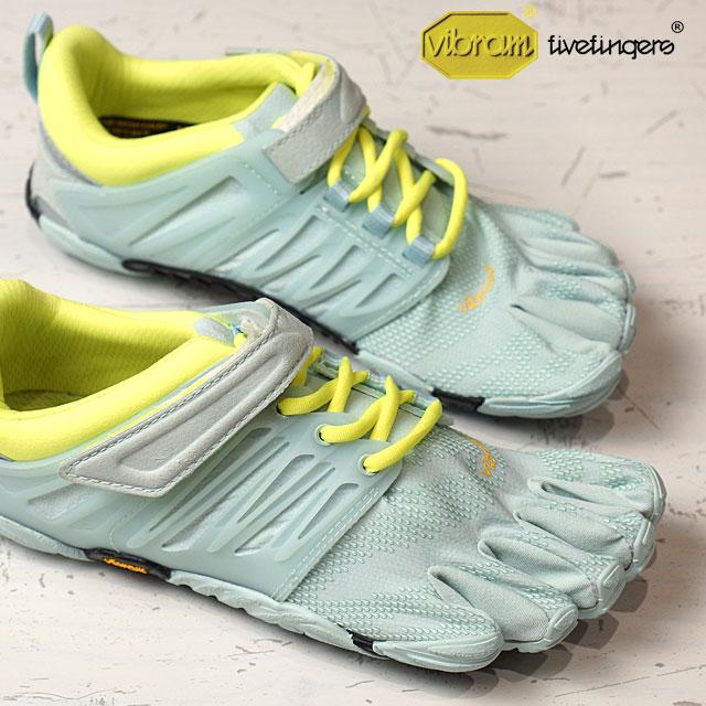 Vibram FiveFingers ビブラムファイブフィンガーズ レディース WMNS V-TRAIN P.BLUE/S.YELLOW ビブラム ファイブフィンガーズ 5本指シューズ ベアフット 靴 (17W6605)【コンビニ受取対応商品】