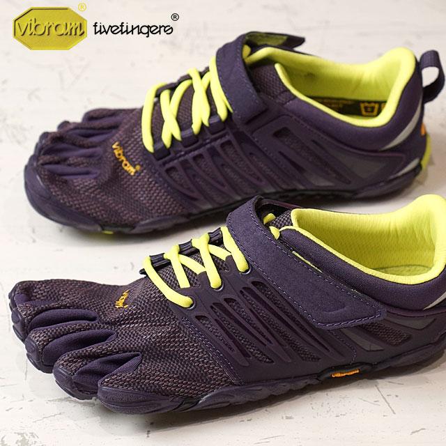 Vibram FiveFingers ビブラムファイブフィンガーズ レディース WMNS V-TRAIN NIGHTSHADE/S.YELLOW ビブラム ファイブフィンガーズ 5本指シューズ ベアフット 靴 (17W6606)【コンビニ受取対応商品】