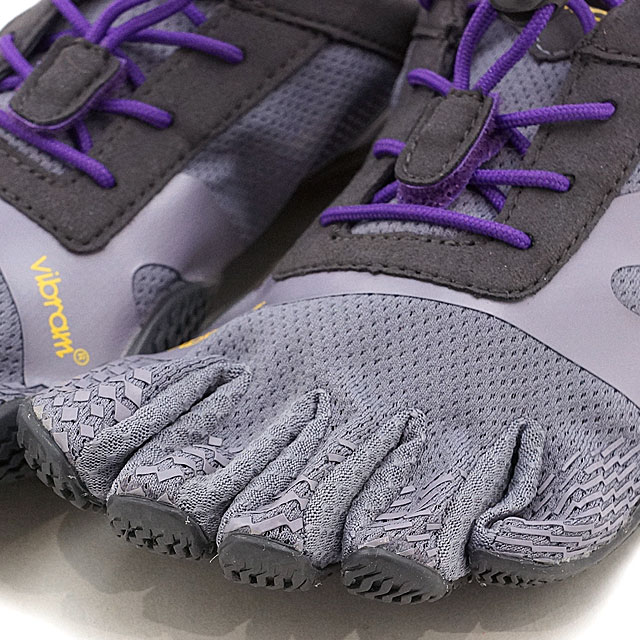 Five Vibram FiveFingers vibram five finger gap Dis WMNS KSO EVO LAVENDER/PURPLE vibram five fingers finger shoes base-up feet (17W0702)