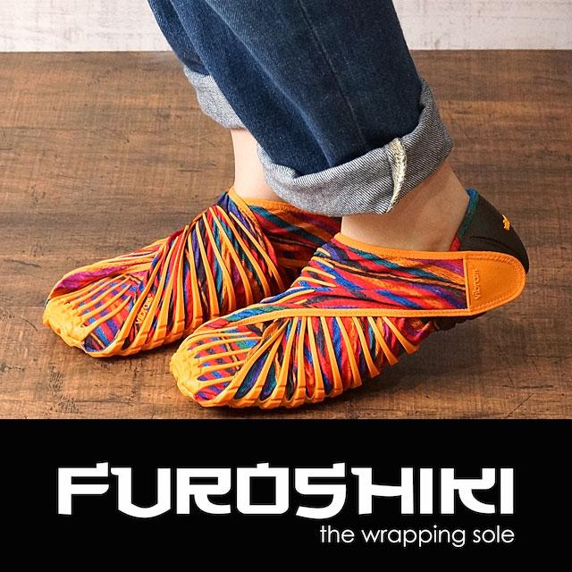 Vibram FUROSHIKI shoes ビブラム フロシキ シューズ メンズ・レディース ビブラムソール REBOZO (17UAC03) shoetime【コンビニ受取対応商品】