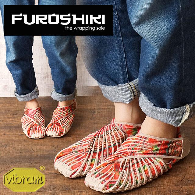 Vibram FUROSHIKI shoes ビブラムフロシキシューズメンズ Lady's vibram sole HMONG (17UAC05)