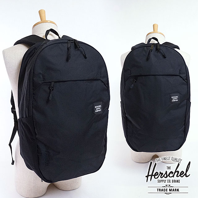 exquisite style arriving store SHOETIME: Rucksack black (10,322-01387 SS17) with the Herschel ...