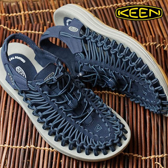 【即納】KEEN キーン ユニーク サンダル 靴 メンズ UNEEK MNS Dress Blues/Neutral Gray (1017032 SS17)【コンビニ受取対応商品】