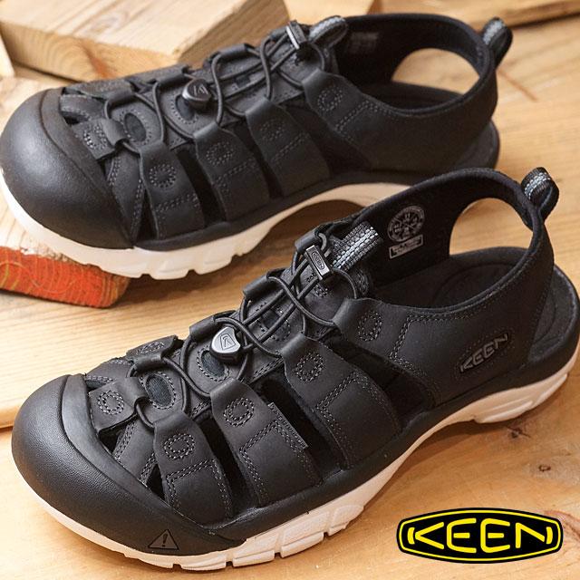 【即納】【限定モデル】KEEN キーン ニューポート エーティーブイ サンダル 靴 メンズ NEWPORT ATV MNS Black/Star White (1016865 SS17)【コンビニ受取対応商品】