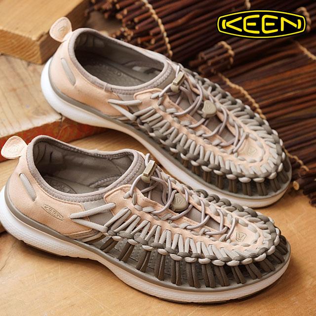 【在庫限り】キーン ユニーク O2 サンダル 靴 レディース KEEN UNEEK O2 WMN Amberlight/Aluminum (1017226 SS17)【ts】【コンビニ受取対応商品】
