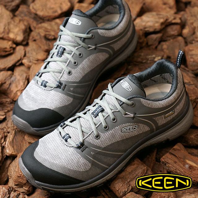 KEEN キーン テラドーラ ウォータープルーフ アウトドアフィットネスシューズ レディース Terradora WP WMN Neutral Gray/Gargoyle 靴 (1016510 SS17)【コンビニ受取対応商品】
